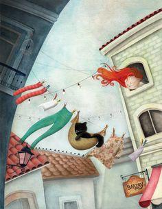 illustration de Viviana Garofoli ==> http://www.vivianagarofoli.blogspot.com.ar/