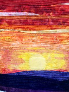 "Detail of Sharon's ""Sunset"