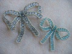 Crystal Bead Bows