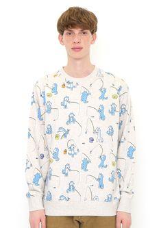 魚釣り (11ぴきのねこ ロング スリーブ スウェット) Cool Style, Shirt Dress, Mens Tops, Shirts, Fashion, Moda, Style Fashion, Shirtdress, Fashion Styles