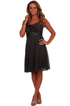 Sleeveless Floral Spaghetti Strap Empire Waist Formal Bridesmaid Evening Cocktail Party Prom clubwear Celebrity style Dress H1351: Amazon.co.uk: Clothing