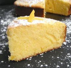 Gâteau au citron, une gourmandis de Chantal #dessert #recette #recipe