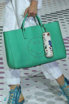 Anya Hindmarch Spring 2015 runway handbags via @WhoWhatWear