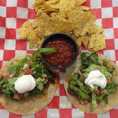 TACO TUESDAY $10 Steak Tacos with tortilla chips!  Yummy!  Come see us!