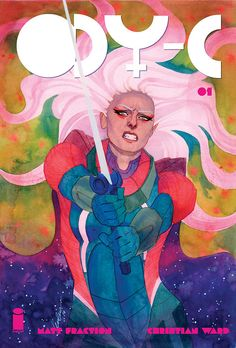 My ODY-C #1 variant Matt Fraction and Christian Ward Available...