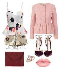 Untitled #64 by curlytops12 on Polyvore featuring polyvore fashion style 3.1 Phillip Lim Rebecca Minkoff Lime Crime women's clothing women's fashion women female woman misses juniors