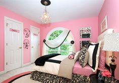 Home Interior, Be Creative to Make Cute Bedroom Ideas for Teenage Girl: Cute Bedroom Ideas For Teenage Girl With Pink Wall