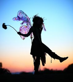 Silhouette of Twig the Fairy