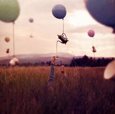 Joel Robinson's Latest Surreal Photographs Create a Dream-Like W #photography trendhunter.com