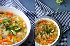 Herzhafte Gemüsesuppe <3