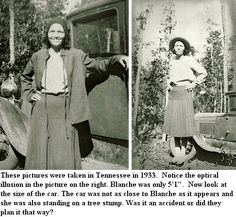 blanche barrow | Blanche Barrow: Photos of her Life with Bonnie and Clyde ~ Blanche ...