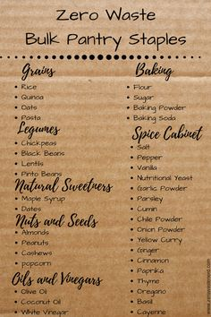 Meal Plan and Grocery Haul #5: Nachos and Sesame Cauliflower - Zero Waste Nerd
