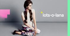 Lana Del Rey as the face of H Fall 2012 campaign.