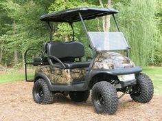 Camo Club Car golf cart