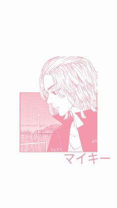 Wallpaper Mikey / Manjiro Sano mangá tokyo revengers minimalist