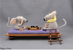 SALE 20 OFF  Felted mice  Miniature Mice are by NeighborKitty, $70.00