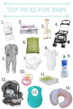 Top registry picks for baby from Twin Cities Moms Blog (citymomsblog.com/twincities)!