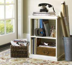 Bedford Open File Cabinet | Pottery Barn