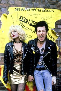 Chloe Webb and Gary Oldman for Sid and Nancy, 1986