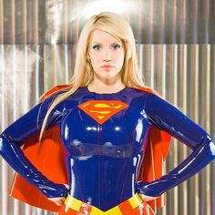 A Sexy Gallery of Bianca Beauchamp, dressed as Supergirl - Bianca Beauchamp : Supergirl