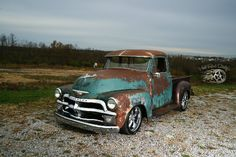 Hot Rod Dirty CO. 54 Chevy Truck, Chevrolet 3100, Classic Chevy Trucks, Gm Trucks, Cool Trucks, Chevy Pickups, Custom Trucks, Rat Rods, Jeeps