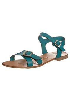 Romeinse sandalen - Turquoise