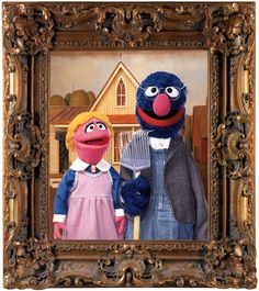 American Gothic Grover