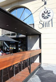 Shift Espresso Bar in Greenpoint opened their doors just the other day and we're not surprised that they've already got loyal regulars. Espresso Bar, Cape Town, The Places Youll Go, Coffee, Kaffee, Coffee Art, Cup Of Coffee