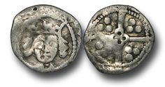 Edward IV (1461-1483), Penny, 0.45g., Light Cross and Pellets Coinage (c.1470-78), Trim mint, crowned facing bust of Edward,  rev.,  long cross with quatrefoil at the centre, (S.6384; JBurns T-2 (type 2)),  very fine