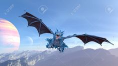 CG rendering of Flying Dragon Stock Photo , Birthday Crafts, Art Sketches, Monsters, Fighter Jets, Sci Fi, Dragon, Stock Photos, 3d, Science Fiction