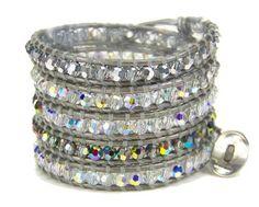 Chan Luu Gray Crystal Multi Wrap Bracelet Silver & Metallic Leather Chan Luu, http://www.amazon.com/dp/B00ANV77Q6/ref=cm_sw_r_pi_dp_.2r0qb1FVX9SW