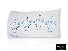 Funda para Almohada con Borreguitos Azul Sunglasses Case, Tote Bag, Kids, Babydoll Sheep, Cases, Toss Pillows, Baby Bottles, Pillows, Blue Nails