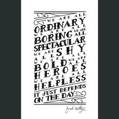 DFTBA - Depends On the Day Poster