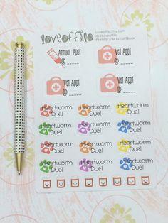 Pet Health Kit | Life Planner Stickers