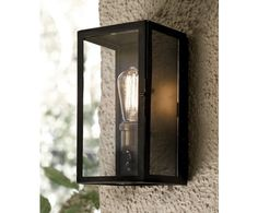 Southampton 1 Light Small Wall Sconce in Antique Black | Outdoor House Lighting | Outdoor Lighting | Lighting