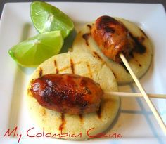 Chorizos Colombianos or Colombian Chorizos