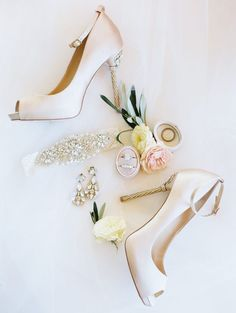 Blush & Ivory Sonoma Wedding at Jacuzzi Vineyards Blush & Ivory Sonoma Bridal Wedding Shoes, White Wedding Shoes, Gold Wedding, Wedding Bride, Bridal Jewelry, Wedding Day, Bridal Style, Wedding Blog, Diy Wedding