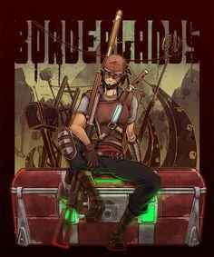 BORDERLANDS:Mordecai 2 by KEISUKEgumby.deviantart.com on @deviantART #borderlands