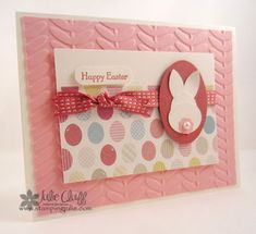 vine street easter bunny by juliestamps - Cards and Paper Crafts at Splitcoaststampers