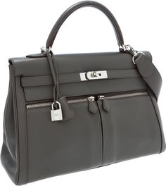 6d5d62e0935d Hermes Limited Edition Etain Swift Leather Kelly Lakis Bag with Palladium  Hardware Pristine - Available at 2013 April 28 Handbags   Luxury.