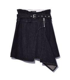 Isabel Marant: Faded Black 'Eydie' Skirt