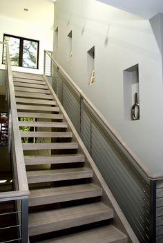 Straight Run Stairs  #stairs Pinned by www.modlar.com