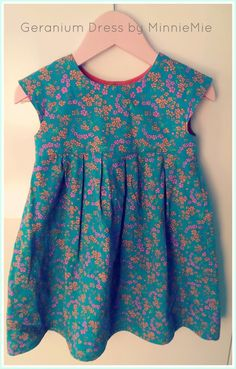 "Avec du tissu Petit Pan ""Hanako"" turquoise. myminniemie.blogspot.be"