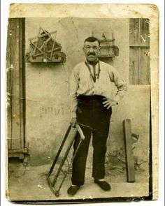 Carpintero de Pozo aledo (Murcia).1929..RegdeMurcia..esos cepillos de carpintero aun se usaban en los 80.