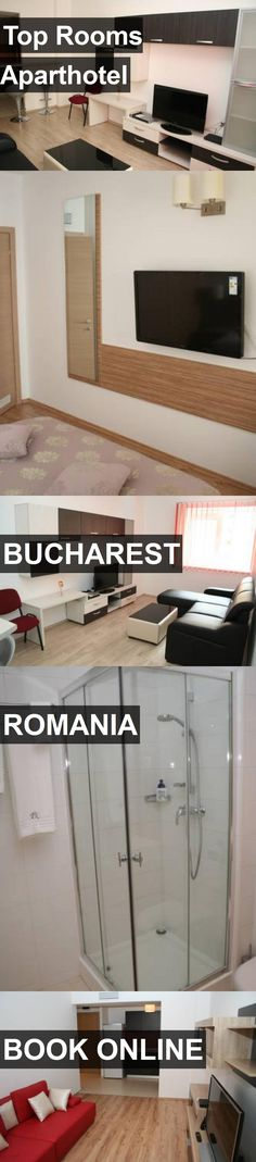 Top Rooms Aparthotel in Bucharest, Romania. For more information, photos, reviews and best prices please follow the link. #Romania #Bucharest #travel #vacation #hotel