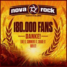 180.000 Fans - DANKE! Ihr seid der Wahnsinn!