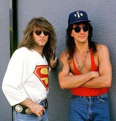 Jon Bon Jovi and Richie Sambora , T.