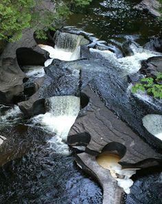 Porcupine Mountains Waterfall, Michigan
