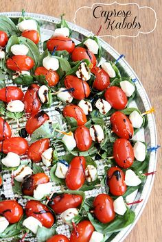 Caprese Kabobs | The Hungry Housewife