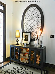 Hometalk :: Free Stereo Console Makeover (not so much a tutorial, but what you can do with an old stereo console!!)